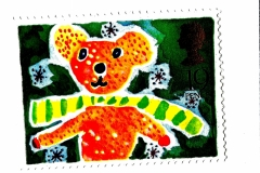 stamp teddy