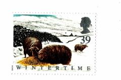 stamp winter